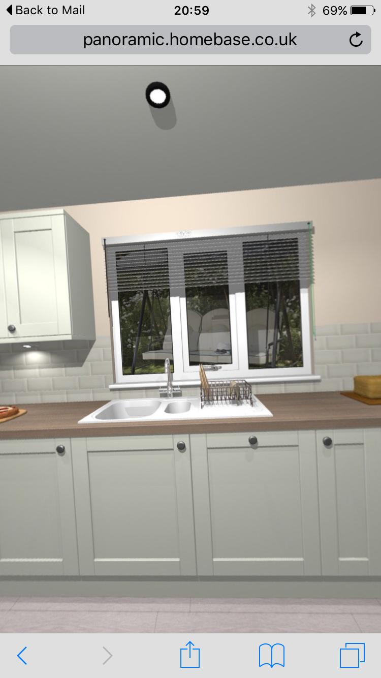 White apron homebase - Kitchen Design Homebase Kitchen All White